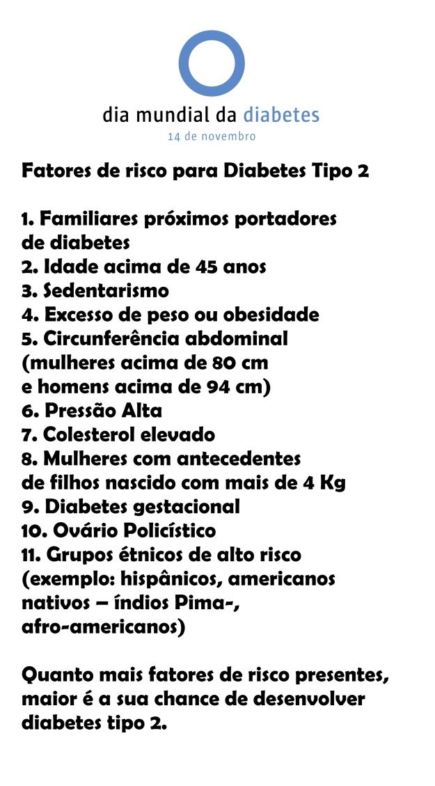 Desenvolvimento do #diabetes tipo 2 depende de uma série de fatores. No caso do tipo 1, ainda é um mistério a ser desvendado