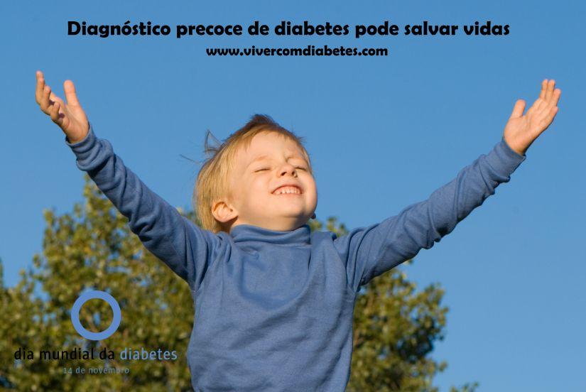 Diagnóstico precoce de #diabetes pode salvar vidas