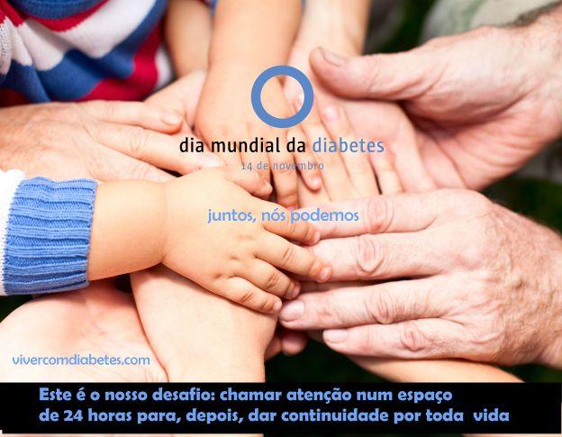 Dia Mundial do Diabetes, 14 de novembro – Um dia para chamar atenção do mundo