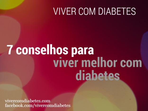 7 conselhos para viver melhor com diabetes