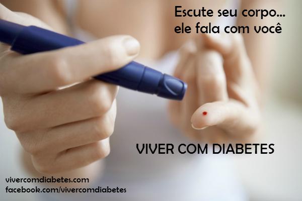 Para viver com diabetes...